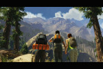 gta 5 trailer 1 hikers making the climb