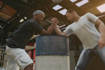 gta online gameplay arm wrestling