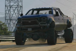 gta online gameplay driving a big truck
