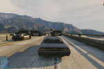 gta online gameplay highway chase 2