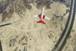 gta online gameplay overhead view