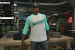 gta online gameplay trying on clothes