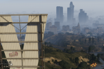 official screenshot city from the vinewood sign