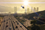 official screenshot evening commute in los santos