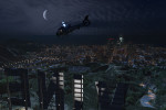 official screenshot flying by vinewood at night