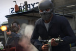 official screenshot franklin with a skull mask