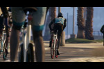 trailer 6 bicycle race along the beach