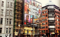 gtav ads box art mural