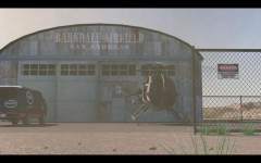 gtav fake screenshot van helicopter barndale airfield