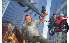 patrick brown first gta v artwork