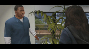 Trailer 2 - Scene 16: Franklin and girlfriend in house